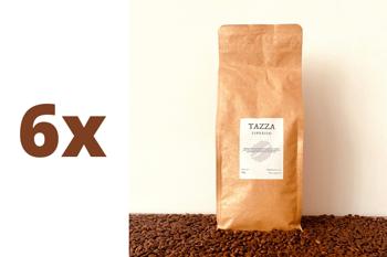 Zestaw: 6x TAZZA - ESPRESSO - kawa ziarnista 1kg